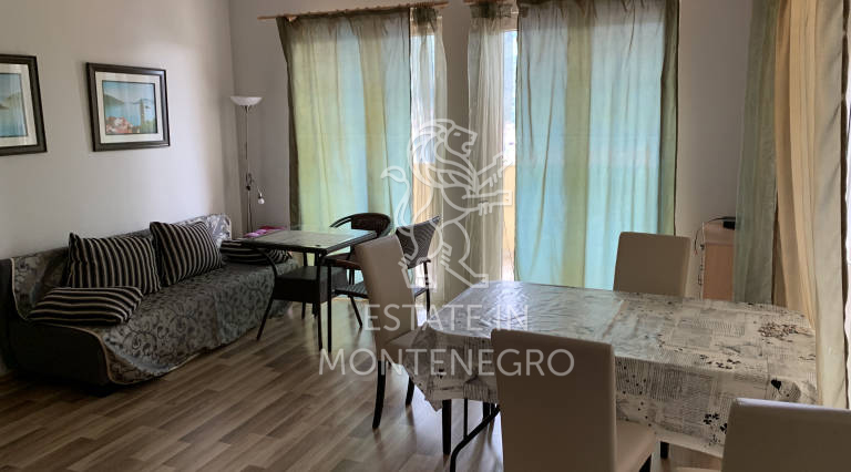 Apartment with sea view in Kamenari, Herceg Novi, 48m²